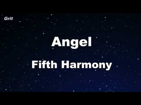 Angel - Fifth Harmony Karaoke 【With Guide Melody】 Instrumental