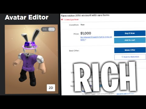 Roblox Legit Account Nbc Auto Buy Onyx Store Buying Really Rare Roblox Accounts From Ebay Youtube