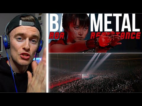 She Split The Crowd Like Moses! | BABYMETAL - Road Of Resistance - Live In Japan | First REACTION!