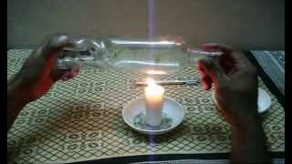 how to cut a bottle using ordinary glass cutter