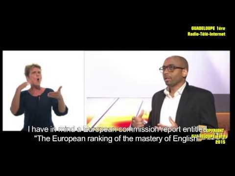 """Présentation de l'ouvrage """"Musique en formation linguistique professionnelle"""" sur Guadeloupe 1ère tv"""
