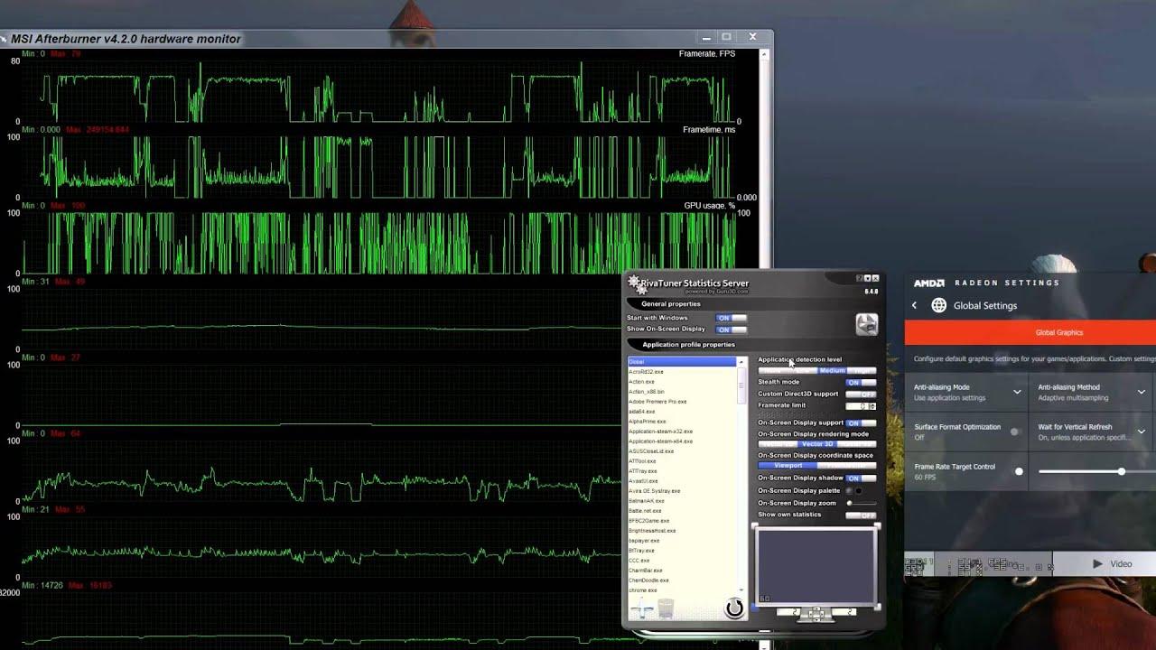 Frame Rate Target Control Sucks? AMD\'s Radeon Settings Crimson ...