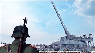 BIGGEST GUN EVER BUILT - FULL AUTO INSANITY
