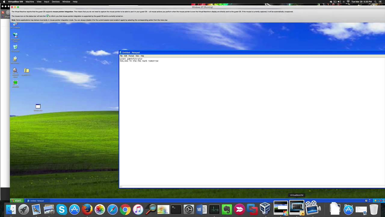 Don't click that file! How to hack Windows XP SP3 with an