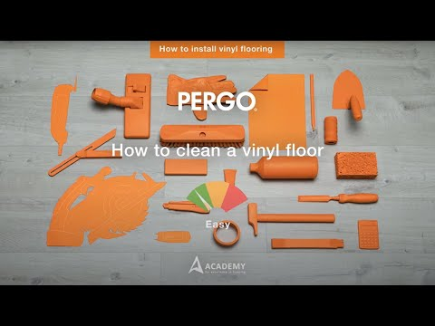 Installing Pergo vinyl flooring - How To Clean A Vinyl Floor?