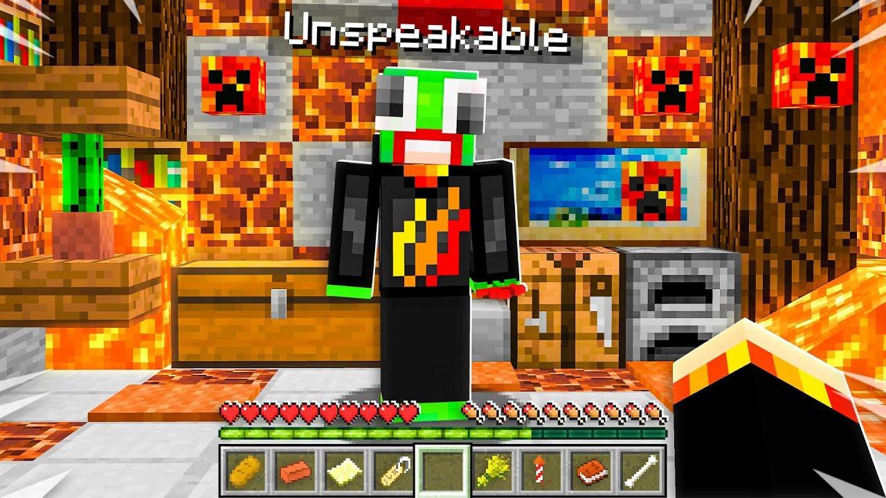 9 SECRETS About UnspeakableGaming! (Minecraft)
