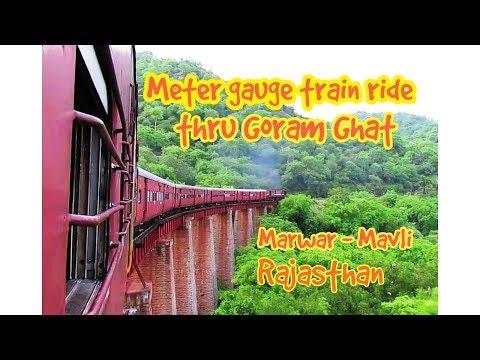 Unforgettable METER GAUGE Journey through Ghats of Rajasthan