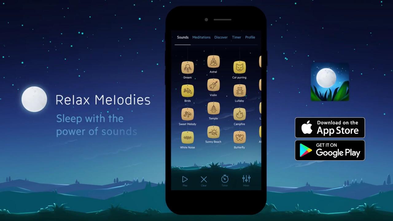 Relax Melodies die besten kostenlosen iPhone-apps 2018