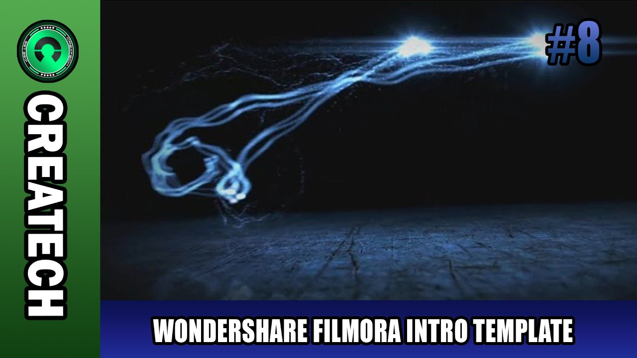 Wondershare Filmora Intro Template 8 Free Download Youtube