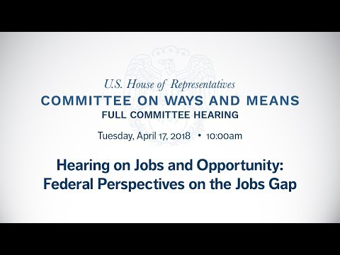Hearing With Sec Acosta on Jobs and Opportunity: Federal Perspectives on the Jobs Gap