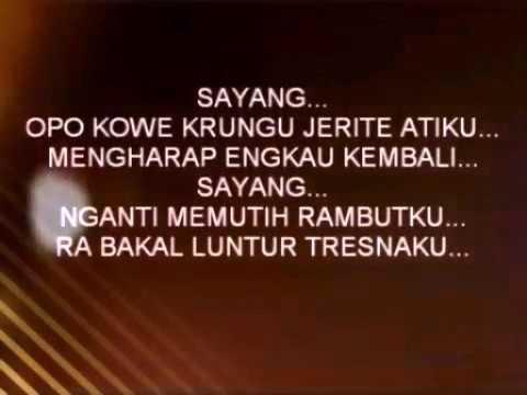 lirik lagu ndx sayang by youtube letto syuenarmaya.mp4
