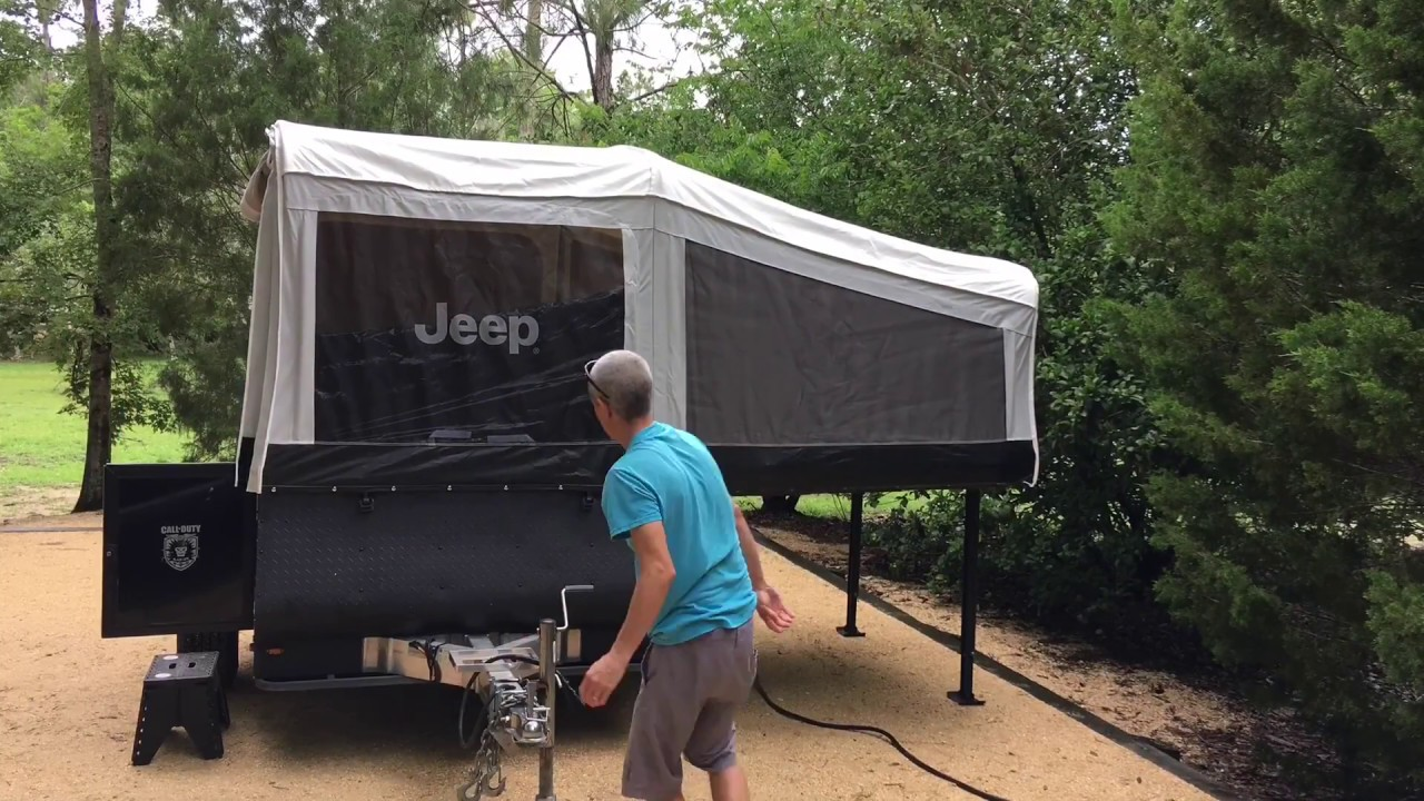 Jeep Extreme Tent Camper by Livin Lite Pop Up Time Lapse