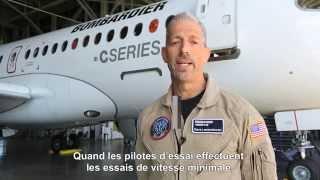 C Series aircraft completes minimum speed flight tests