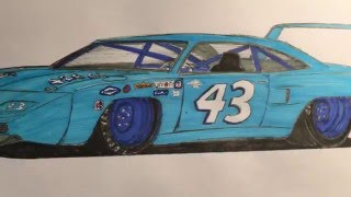 Speed Drawing: Plymouth Superbird