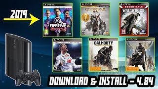 How to Download and install PS3 Games for free via USB - 2019 Trick
