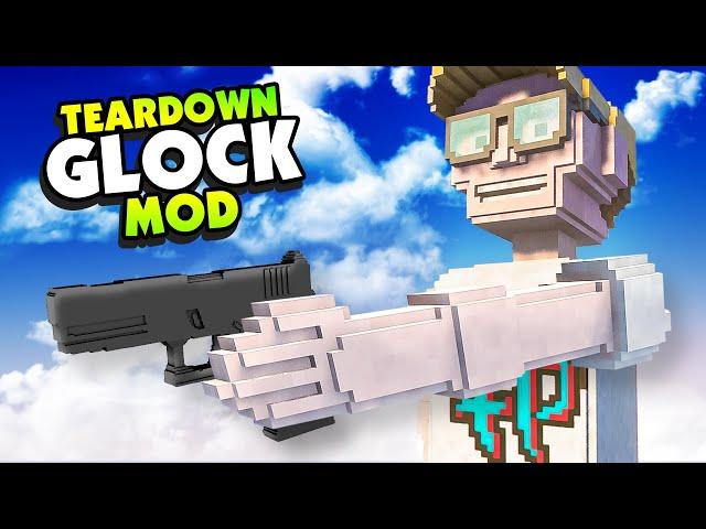 Custom GLOCK MOD Is the Most ADVANCED WEAPON - Teardown Mods
