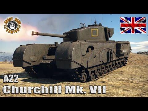 War Thunder: (A22F) Mark IV Churchill Mk. VII, British Tier-3 Heavy Tank