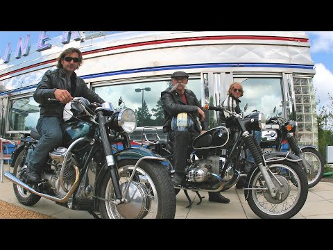 1000 Mile Vintage Motorcycle Ride from Indiana to Florida | Trippin' on Two Wheels - Retro