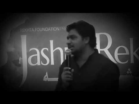 Zakir khan #jashn e rekhta #2017 #shayari #