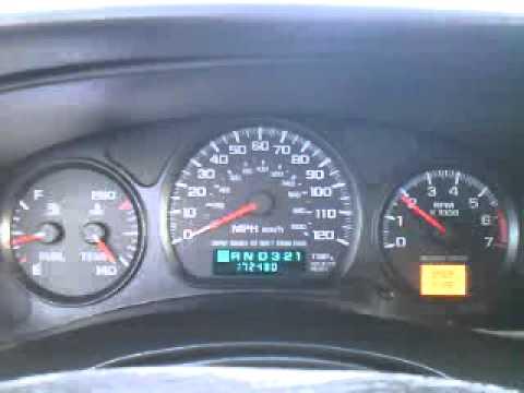 2000 Chevrolet Monte Carlo LS Dash REV - YouTube