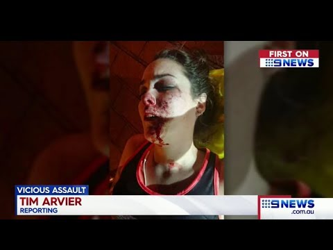 Nine News Qld. African Gang Violent On An Australian Women.(Multicultural Nightmare)(Redbank Plains)