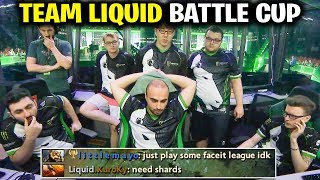 TEAM LIQUID - The Reason Why they Play Battle CUP