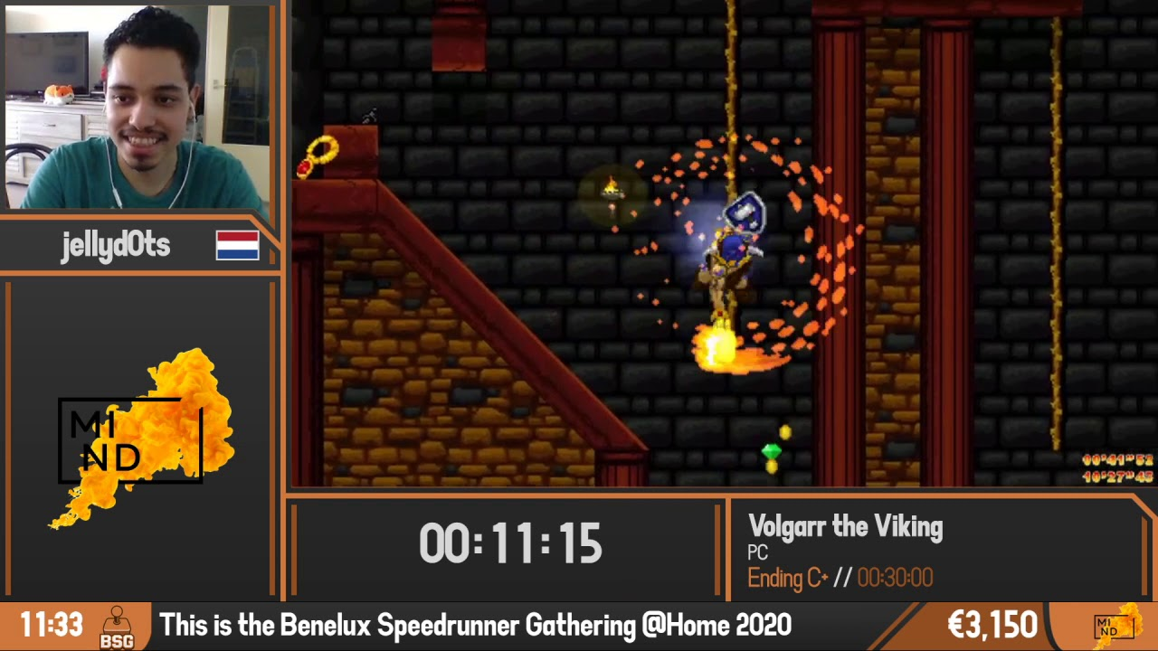 Volgarr the Viking | Ending C+ by jellyd0ts | BSG @Home 2020