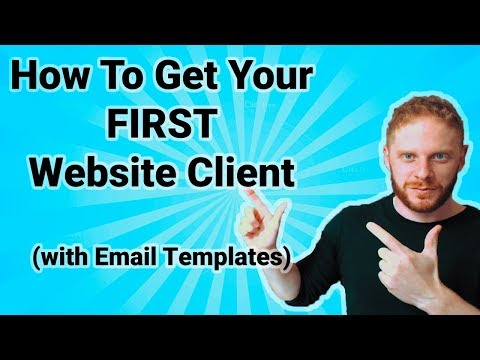 How To Get Your First Web Design Sale ( With Actual Email Templates )