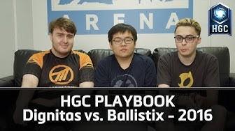 Dignitas vs. Ballistix 2016 - Playbook Raw - HGC Insider