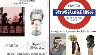 """"""" ESTONOESLOQUEPARECE """", Exposición Museo MARCA Cacabelos"""