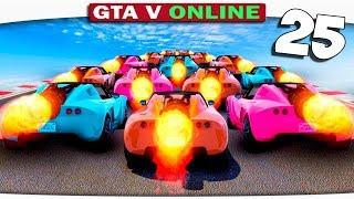 ч.25 Один день из жизни в GTA 5 Online - РАКЕТНЫЕ ТРЮКИ