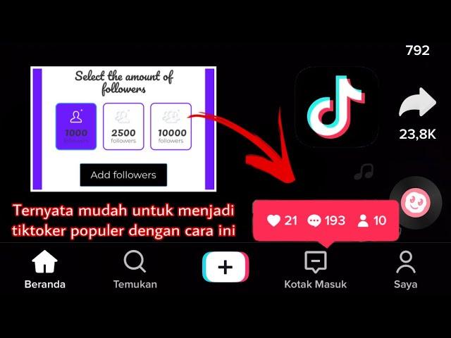 Jebol 3 Cara Menambah Followers Di Tiktok Dengan Cepat2020 Youtube