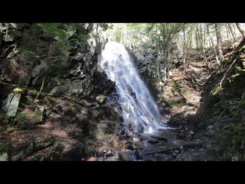 Mosher Hill Falls in Farmington, Maine, Franklin County