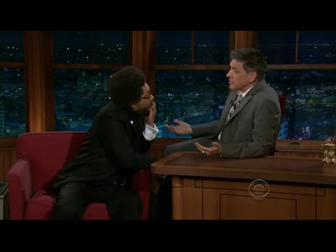 Late Late Show with Craig Ferguson 2/1/2011 Dr  Cornel West, George Clinton