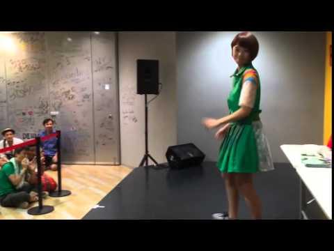 Negicco「ねぇバーディア」リリースイベント 2015/08/08 タワーレコード梅田NU茶屋町店
