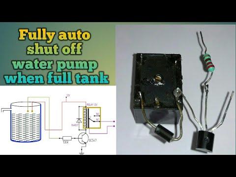 auto shut off water pump when water tank is full youtube  auto shut off water pump when water tank is full