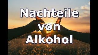 Die Sinnlosigkeit von Alkohol (das solltest du wissen)