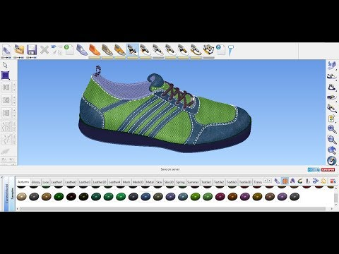 Sport Shoe part 01  (Delcam CRISPIN Shoemaker)