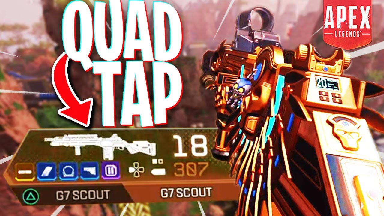 No Sane Person Would Try the Quad Tap G7 Setup... - PS4 Apex Legends