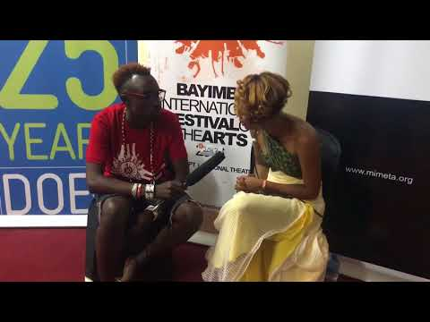 Betty G trip to uganda and preforming at the Bayimba Art Festival