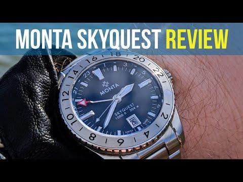 Monta Skyquest Watch Review - The Best Luxury Watch Under $2000?