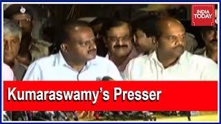 Kumaraswamy Speaks After Meeting Governor; JD(S)-Congress Govt Will Form Next Govt In Karnataka
