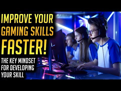 How to Improve Your Gaming Skills FASTER - Growth Mindset for eSports Success
