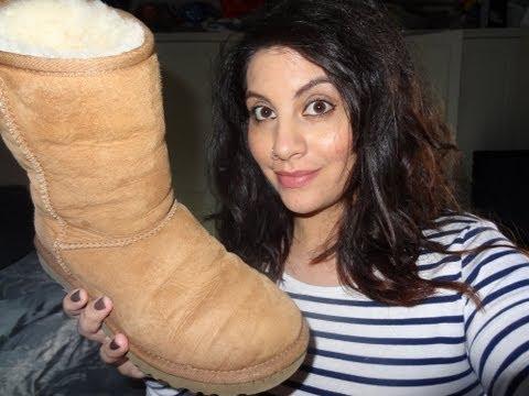 CLEAN YOUR UGG BOOTS WITH BABY SHAMPOO | Natasha Summar