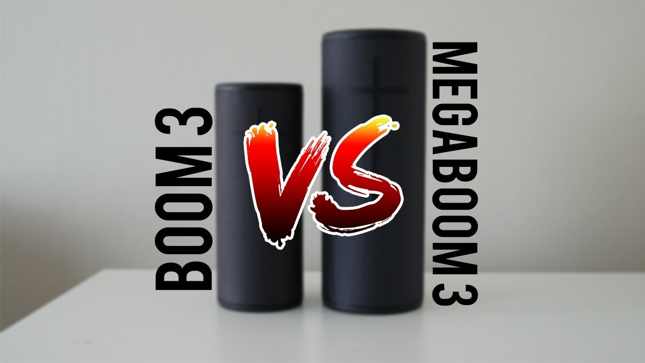 UE Boom 3 vs UE MEGABOOM 3 - Which Speaker Should You Buy!