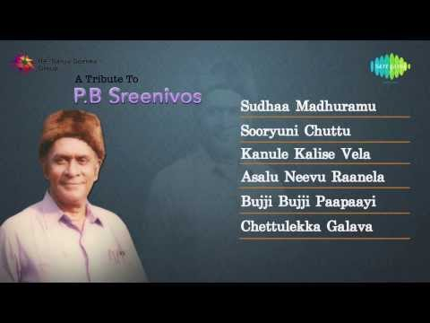 A tribute to PB Sreenivos Vol 2   Telugu Hit Songs   Jukebox