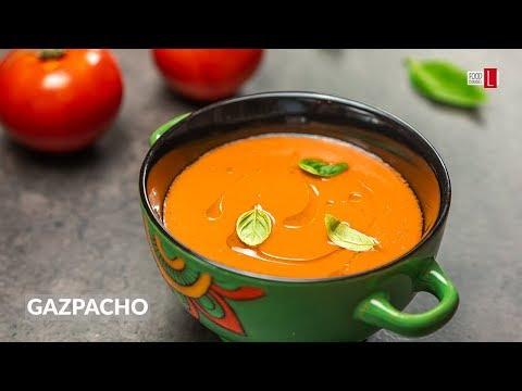 Gazpacho | Cold Tomato Soup | Food Channel L