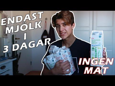 ÄTER INGEN MAT del2 | BARA MJÖLK i 3 DAGAR