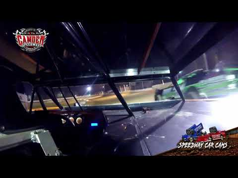 #B97 Jeramy Bailey - 602 Sportsman - 7-27-19 Camden Speedway - In-Car Camera