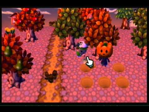 animal crossing city folk halloween guide - Halloween Animal Crossing City Folk